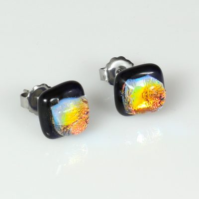 Fused Glass Earrings
