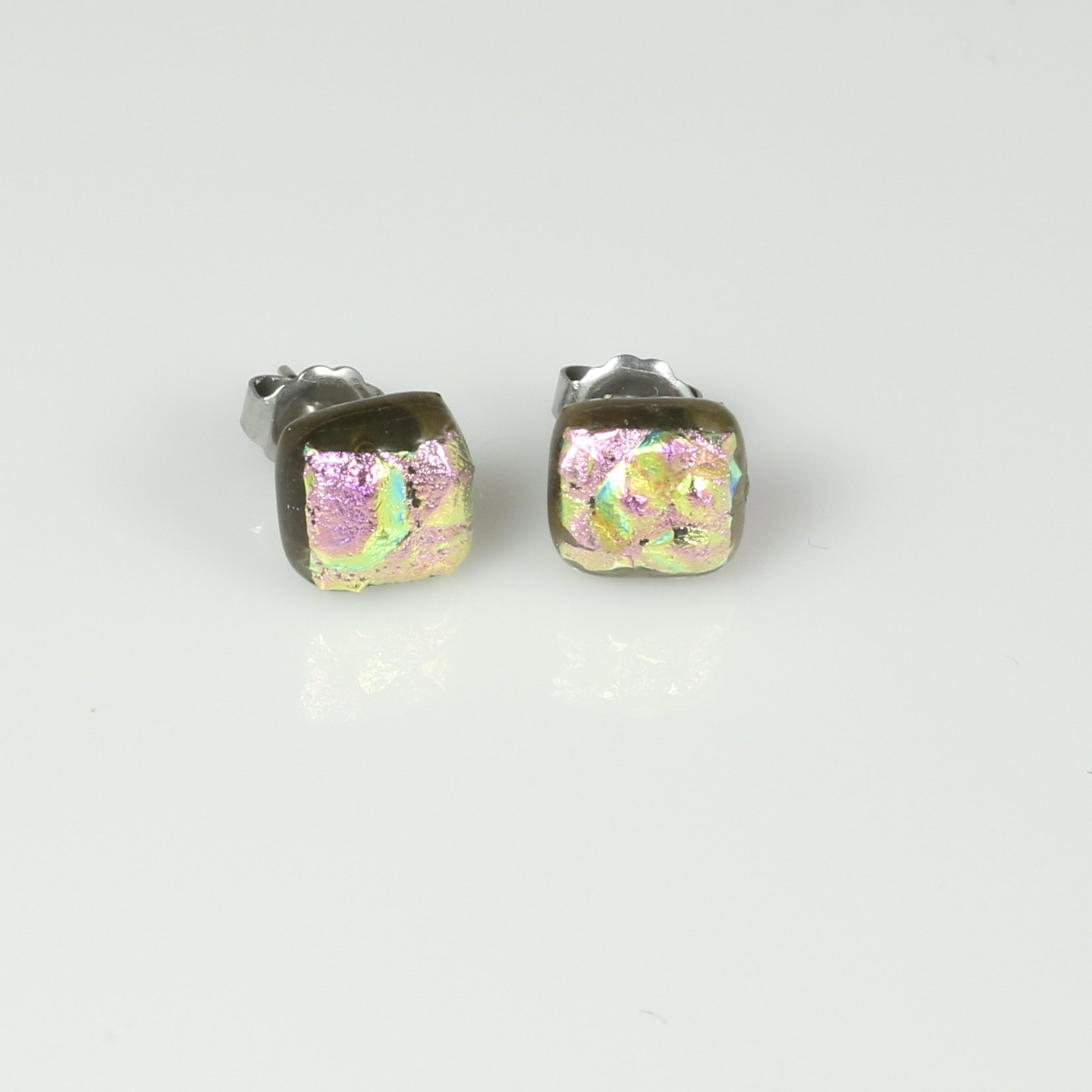 Fused Glass Earriings