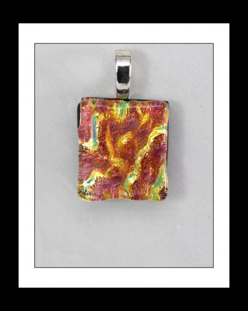 Fused Glass Pendant