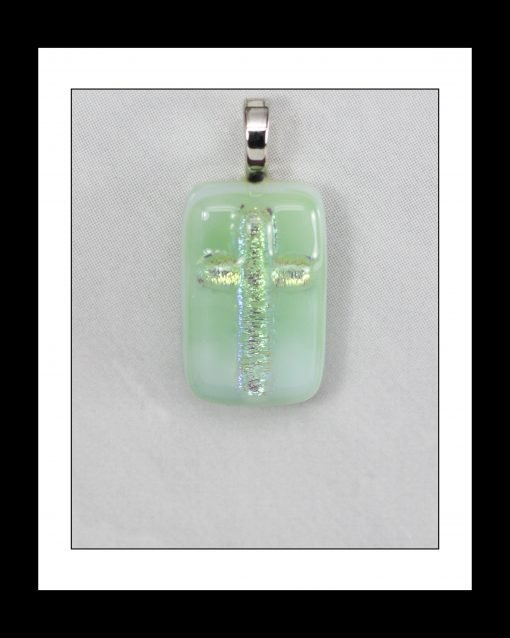 Fused Glass Pendant_