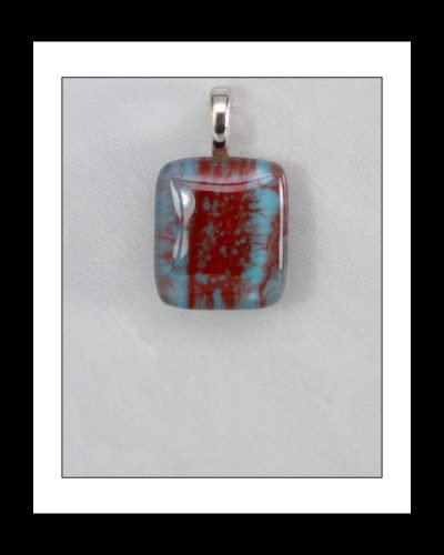 Fused Glass Jewelry, Fused Glass Pendant