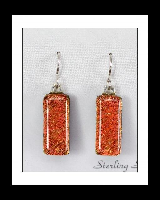 Fused Glass Earrings